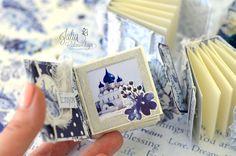 Julia Ost handmade: Мини альбомы для блога Scrapberry's .