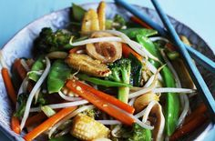 We all love stir fry! Grab whatever veggies you like, press some tofu, and then cook with peanut oil, spicy sesame oil and a little white wine. Top with sriracha and tamari soy sauce and serve with a chilled white, like our 2012 Chardonnay!