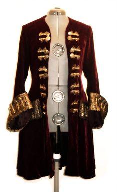 Pirate Coat by Dragolump on DeviantArt Pirate Jacket, Pirate Garb, Pirate Cosplay, Pirate Costumes, Steampunk Fashion, Gothic Fashion, Pirate Wedding, Steampunk Pirate, Pirate Fashion