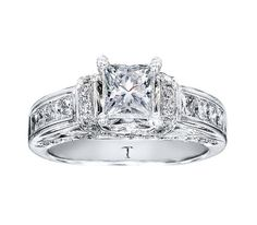Tolkowsky Diamond Engagement Ring for Kay Jewelers