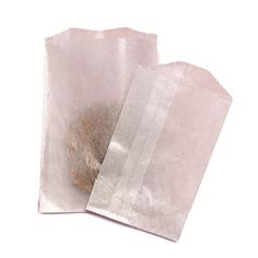GKB Glassine Waxed Paper Flat Cookie and Pastry Bags 100 Count (X-Large 5-3/4 X 7-3/4)