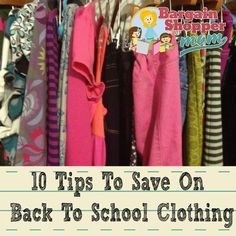 How to Save On Back To School Clothes – Top 10 Tips