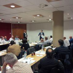 Luc De Vos e Philip Buskens (BASF)
