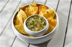 Green Summer Salsa - Applesauce recipes curated by SavingStar Grocery Coupons. Save money on your groceries at SavingStar.com
