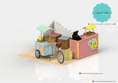 Quiosque e foodbike