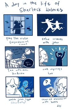A Day in the Life of Sherlock Holmes