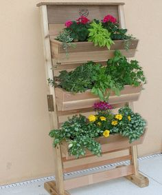 Look at this Vertical Grow System Standing Planter on #zulily today!