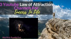 This post may contain an affiliate link (at no extra cost to you) We all want success in life. Success can come in any form. Law Of Attraction Youtube, Breathing Techniques, Change Your Mindset, Transform Your Life, Beautiful Soul, Meditation, Channel, Success, Affirmations