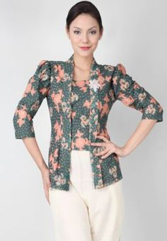 Awesome batik inspired top