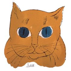 """Sam"" - Andy Warhol More At FOSTERGINGER @ Pinterest"