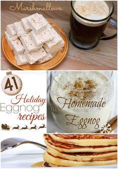 41 Holiday Eggnog Recipes