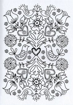 Flower Coloring Pages For Adults Printable - Free Coloring Sheets Adult Coloring Pages, Flower Coloring Pages, Printable Coloring Pages, Coloring Sheets, Coloring Books, Printable Art, Mandala Coloring, Printables, Colouring