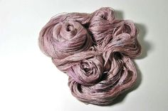 Silk Baby Camel Lace in Belle  One of a Kind by Lichtfaden on Etsy