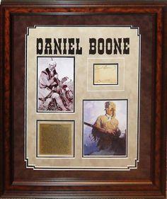 Daniel Boone Original Signature - Antiquities LV