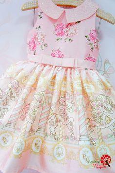 Vestido de Festa Infantil Carrossel Petit Cherie