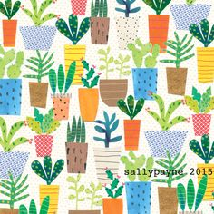 illustrations by Sally Payne http://sallypayne.com/page/2/ cactirepeat