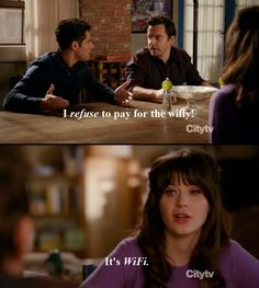 Shmidt Jessica Day Nick Miller, New Girl, The Wiffy! New Girl Quotes, Tv Quotes, Movie Quotes, Qoutes, New Girl Funny, The Funny, New Girl Tv Show, Its Jess, Jessica Day