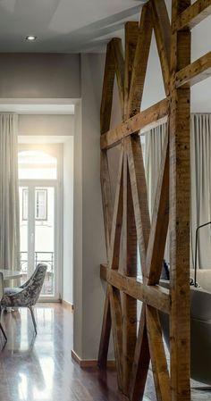 Daiba Disseny –Dividir ambientes con paredes de madera -                                                                                                                                                                                 Más