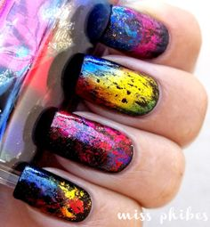 I like this, its using nail foil from Born Pretty.