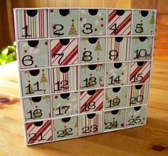 We are in the market this week to find a wood advent calendar! My parents have an advent calendar for my nieces and a close family friends children.  I want to start one this year for my newphews as a tradition from Uncle M & Aunti M.