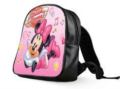 bd0b880e5a74 School Bag Custom Disney Minnie Mouse Cute Pink. Custom BagsCartoon KidsCute  ...