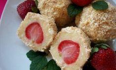 Báječné tvarohové knedle s jahodami. Takáto dobrota skáče do úst sama. | Báječné recepty