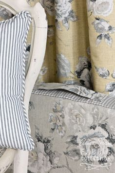 Annie Sloan - Annie Sloan Fabric Collection | Emmeline in Grey