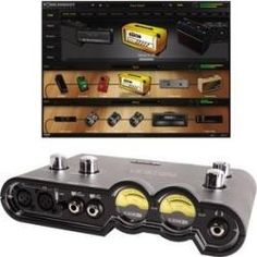 Home Studio Recording Pod Studio Ux2 Interface Multiefectos - $ 690.000
