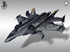 atmospheric fighter by ~StTheo on deviantART