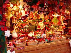 ヴェネツィアのクリスマスマーケットにて CHRISTMAS MARKET VENEZIA