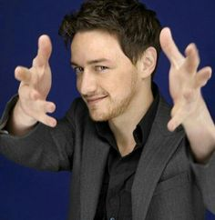 James McAvoy. Look at that expression. Just look at it.