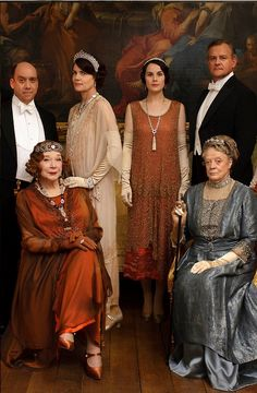The Royals of DOWNTON ABBEY!