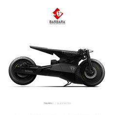 BARBARA MOTORCYCLES — BMW K100 - LE THRACE Barbara Custom Motorcycles -...