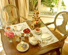 Royal Tea at The Peninsula Beverly Hills