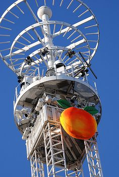 Happy New Year Atlanta Best Peach Drop 2012