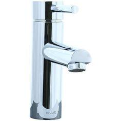 Techno Single Hole Bathroom Sink Faucet with Single Handle