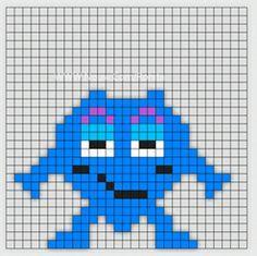 Min mamma jobbar som Förskollärare och frågade om jag kunde göra Babblarna i pärlplattor. Så jag satte mig ner vid skrivbordet och började pyssla ihop lite pärl Loom Beading, Beading Patterns, Small Cross Stitch, Saga, Halloween Crafts For Kids, Kids Corner, Baby Knitting Patterns, Perler Beads, Kids Playing