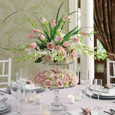 Love this...adore pinks with greens