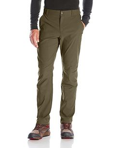 """Columbia Men's Royce Peak Pants, 32"""" x 30"""", Peat Moss. For product & price info go to:  https://all4hiking.com/products/columbia-mens-royce-peak-pants-32-x-30-peat-moss/"""