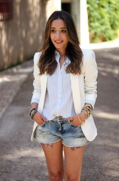 Have a million pairs of old jeans that you're dying to restyle or upcycle? Check out these chic ways to style cutoff shorts all summer long.