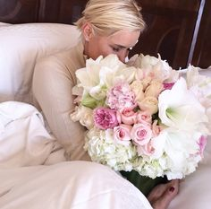 Flowers! Gorgeous bouquet! Yolanda Foster.