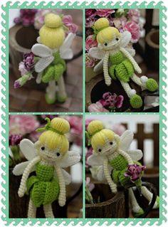 Tinkerbell Doll Crochet Pattern
