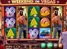 Spilleautomat Weekend in Vegas på nettet pengespill med uttak. Norsk produsent Betsoft Gaming har rutinemessig utgir nye høykvalitets 3D spilleautomat med fascinerende regler. Story of Weekend in Vegas spilleautomat dedikert til tre venner som gikk til hvile og vinne penger i verdens hovedstad gambling. Et viktig trekk ved denne enheten er det store antall