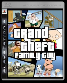 Grand Theft Auto / Family Guy mashup