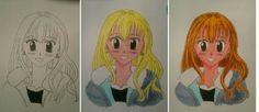 #manga #anime #girl #face