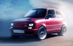 2014-02-23   Fiat 126 Sketch of the day - by L. Fabris