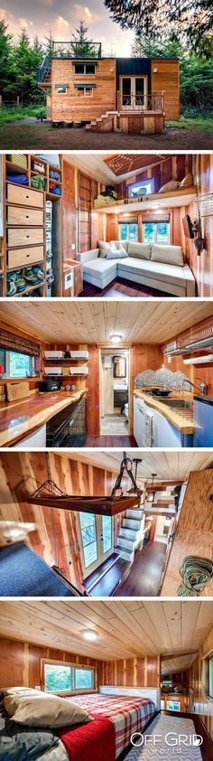 Beautiful pet-friendly off grid tiny house