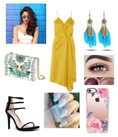 """""""Untitled #528"""" by ariana13015 ❤ liked on Polyvore featuring Victoria Beckham, Anne Michelle, Tory Burch, WithChic and Casetify"""