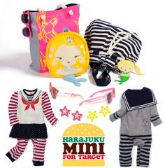 Gwen Stefani's Harajuku Mini for Target I have the G mermaid mini backpack and the coin purse. LOVE THEM!
