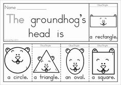 Groundhog Day Sight Words Flip Books (colored black and white). Includes a recording sheet for each booklet so kids can write their favorite sentences. Great paper saving alternative to traditional readers!